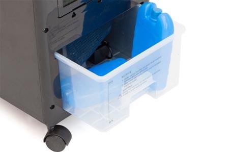Condizionatore ghiaccio abbattitore di temperatura da casa for Condizionatori portatili klarstein