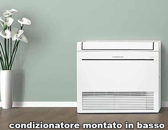 Condizionatori in basso o in alto come meglio montarli for Montare condizionatore